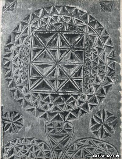эскизы для геометрической резьбы:
